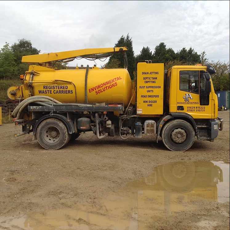 Septing tanks services in Derbyshire